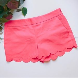 Express | Neon Pink Scalloped Shorts